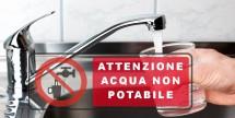 Sospensione uso potabile acqua pozzo ex Ruggiero