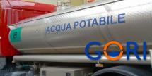 Attivato servizio idrico sostitutivo con autobotti